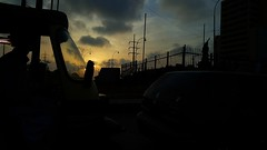 Silhouetted existence (Amima Sayeed) Tags: karachi silhouettes clifton sunset pakistan