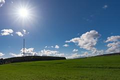 Woldzegarten (raph_7770) Tags: woldzegarten müritz sonne wolken blendensterne nikond750 tamron153028vc blauerhimmel turm funkturm