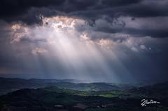 Rays (Riccardo Maria Mantero) Tags: clouds mantero riccardo maria blue landscape light outdoors rays sky spring sun riccardomantero riccardomariamantero