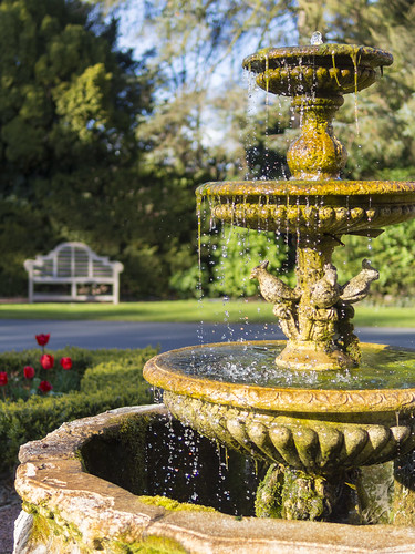 Fountain at Abbey House Hotel