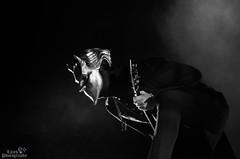 IMGP9851 (Lilith Photographyy) Tags: photography concertphotography concert ghost gothic goth music musicians singer guitarist bassist guitar bass metal portrait blackandwhitephotography blackandwhite satanist satanic evil devil pope demons popeemeritusiii makeup