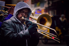music for the soul (JimfromCanada) Tags: trombone music play instrument blow cold cool brass band tune neworleans louisiana street