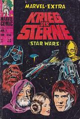 Krieg der Sterne / Sammelband (micky the pixel) Tags: comics comic heft sammelband sf scifi marvel howardchaykin kriegdersterne starwars film movie adaption