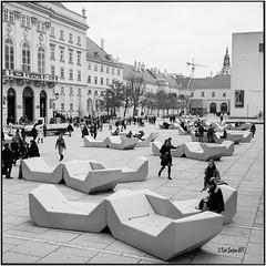Museumsquartier_Rolleiflex 3.5B (ksadjina) Tags: 6x6 austria carlzeisstessar35 kodak400tmax nikonsupercoolscan9000ed rodinal rolleiflex35b silverfast vienna analog blackwhite film scan