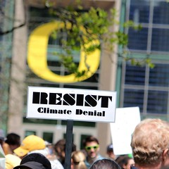 Resist Climate Denial (dsgetch) Tags: eugene eugeneoregon sciencerally sciencemarch marchforscience protest rally eugeneprotest protestsigns protestsign uofo uo universityoforegon climatechange climatedenial