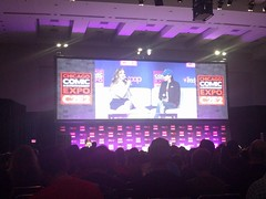 Millie Bobby Brown Panel (blueZhift) Tags: c2e2 2017 cosplay anime manga comics videogames television costume scifi fantasy cartoons animation movies books milliebobbybrown eleven strangerthings