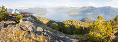 Camping with a View! (Jason Pineau) Tags: camping hiking backpacking leading peak anvil island howesound britishcolumbia bc view summit