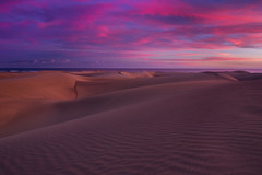 Dunes at dusk (snowyturner) Tags: sand dunes canary islands maspalomas twilight sunset clouds undulations landscape