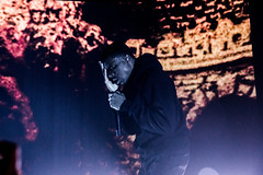 Vince Staples (undertheradarmag) Tags: vincestaples thelifeaquatic lifeaquatictour thelifeaquatictour the life aquatic tour gorillaz live concert metro chicago themetro joshuamellin rap hiphop 2017 lights production stage staging colors crowd audience wild