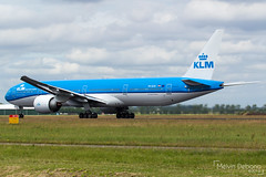 KLM Royal Dutch Airlines Boeing 777-306ER  |  PH-BVR  |  Amsterdam Schiphol - EHAM (Melvin Debono) Tags: klm royal dutch airlines boeing 777306er | phbvr amsterdam schiphol eham melvin debono spotting canon 7d 600d airport airplane aviation aircraft airways plane planes polderbaan