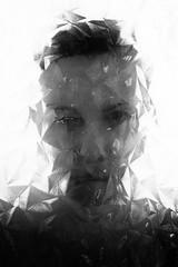 (willy vecchiato) Tags: portrait ritratto blackandwhite monochrome grain grainy bokeh window glass abstract eye woman people art fine