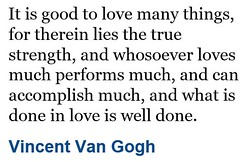 Inspirational quote from Vincent Van  Gogh (ShaluSharmaBihar) Tags: vincent vangogh quote quotes quotation quoted inspiration inspirational vincentvangogh
