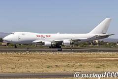 Boeing 747-481F, N401KZ, Kalitta Air (xuxinyi1000) Tags: boeing747481f boeing747 boeing747400f boeing747cargo kalittaair tucsoninternationalairport boeing747400 boeing 747481f cargo n401kz cn 34016 1360 kalitta air tucson international airport tus ktus tucsonairport