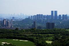 Chongqing (Slonya) Tags: china chongqing skyline sonya3000 beautiful mountains
