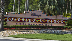 Coronado Springs Sign (dziactor) Tags: world disney springs coronado disneys
