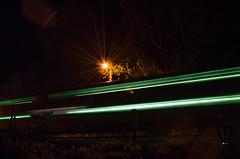 Moving by (photo-engraver1) Tags: railroad wisconsin night train transportation metra trainspotting kenosha