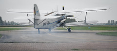 Smoking Antonov An-2 (PH Visuals) Tags: netherlands germany airport smoke engine international german roar biplane teuge an2 duits vliegveld
