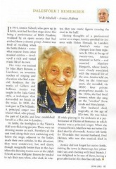 My Grandma the late Annice Holmes in this month's Dalesman (Dave Haygarth) Tags: mobile iphone
