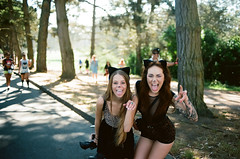 56170024 (robinnhansen) Tags: sf sanfrancisco california girls party hot film beautiful northerncalifornia photography nikon baseball kodak bokeh f14 rage muni giants fm2 baytobreakers ektar bay2breakers robinhansen