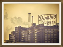 Baltimore MD ~ Domino Sugars Plant - HSS! (karma (Karen)) Tags: windows plants signs industry buildings smoke maryland baltimore flags innerharbor factories hss hccity canong10 sliderssunday
