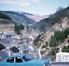 Town centre, Cymmer (1973) (Duncan_and_Gladys) Tags: uk wales glamorgan cymmer