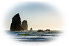 Dreams of the Beach, Cannon Beach OR [Explore] (tacoma290) Tags: vacation sunlight beach rock back nikon dreams pacificnorthwest oregoncoast needles cannonbeach discovery pnw vignette theneedles dreamsofthebeachcannonbeachor