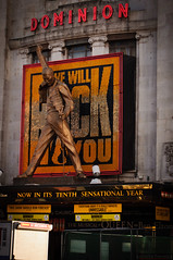 Dominion Theatre - We'll Rock You