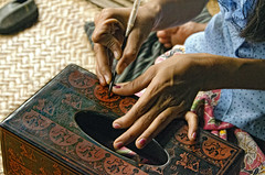 (Artypixall) Tags: artwork burma workshop myanmar artisan bagan lacquer