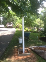"""Light Post with Planter • <a style=""""font-size:0.8em;"""" href=""""http://www.flickr.com/photos/76001284@N06/9088947218/"""" target=""""_blank"""">View on Flickr</a>"""