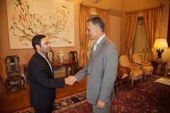 PSD em audiência com o Presidente da República