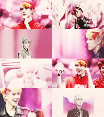 sehun colormeme with pink