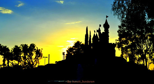 Yellow Sunset In Orange County, California.....