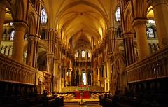 cathédrale de Canterbury : le choeur (XIIe s). (jmsatto) Tags: england kent canterbury cathédrale vigilantphotographersunite vpu4 vpu7 vpu8 vpu9