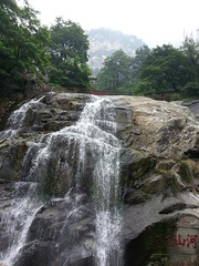 Day 11: Waterfall in Mount Tai (discoverMSYG) Tags: china trip youth group spotlight mon discover t2c triptochina 2013 sheong msyg monsheong