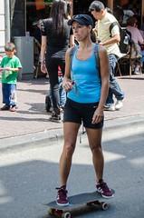 skateboard girl (105mm) Tags: portrait people woman girl amsterdam portraits outfit women pretty candid style blond skateboard streetwear mensen streetstyle