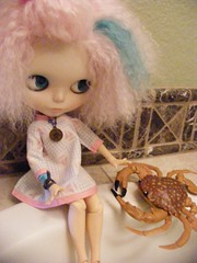 Blythe A Day August 2:  Crabbing