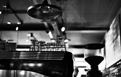 Cafe (forayinto35mm) Tags: blackandwhite costa coffee 35mm 50mm glasses cafe minolta machine coffeeshop 50mm14 steam espresso winchester ilford ilforddelta400 delta400 minoltadynax5 blackandwhitefilm costacoffee ilforddelta blackandwhiteilford ilfordblackandwhitefilm sonyalpha50mm14