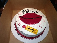 Lipstick Cake, Santa Cruz, Ca, www.birthdaycakes4free.com