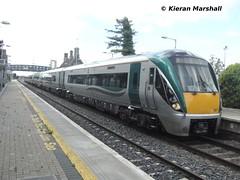 22011+22018 depart Portlaoise, 31/8/13 (hurricanemk1c) Tags: irish train rail railway trains railways irishrail rok rotem portlaoise icr iarnród 2013 22000 22011 éireann 22018 iarnródéireann 3pce 1220portlaoiseheuston 2x3pce