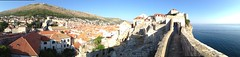 View of Dubrovnik from the city wall