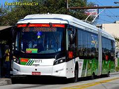 Metra 8171 - Caio Millennium BRT - Mercedes Benz O-500UA (busManíaCo) Tags: caio metra metropolitano o500ua caioinduscar sãobernandodocampo nikond3100 millenniumbrt