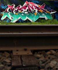 TRACK STAND (ALL CHROME) Tags: urban streetart canon weed sucks kemer kem allchrome kem5 kems kemr
