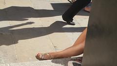 Hidden (likrwy) Tags: shadow woman man shoe legs guildford