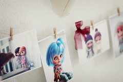 Set of 5 Blythe prints