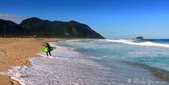 Rio de Janeiro - Praia de Grumari e o Surfista Brasileiro - Brasil (.**rickipanema**.) Tags: brazil praia beach ri