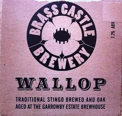 Brass Castle Wallop (Vegefoodie) Tags: vegan veganbeer stingo yorkbeerfestival brasscastlebrewery