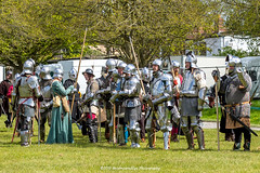 [2014-04-19@14.57.06a] (Untempered Photography) Tags: history costume helmet battle medieval weapon sword axe knight shield armour reenactment combatant chainmail watercarrier spear canonef50mmf14 perioddress polearm buckler platearmour poleweapon mailarmour untemperedeye canoneos5dmkiii untemperedeyephotography glastonburymedievalfayre2014