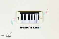 IMG_3027 (şąώšâņ) Tags: music piano note photograper musicislife موسيقى بيانو