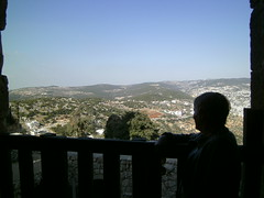 Ajloun  Castle, Jordan (LarrynJill) Tags: travel vacation castle stone view jill middleeast jordan 2014 ajlouncastle