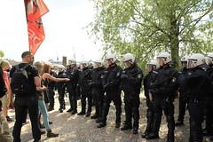 Blockupy Hamburg 170514-056 (photo.graf™) Tags: europa hamburg spd hafencity lampedusa widerstand barrikaden wasserwerfer krawalle linke demontration 170514 polzeieinsatz blockupy